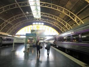 depart en train